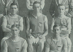 Athletics team 1914